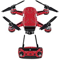 Skin for DJI Spark Mini Drone Combo - Bandana| MightySkins Protective, Durable, and Unique Vinyl Decal wrap cover | Easy To Apply, Remove, and Change Styles | Made in the USA