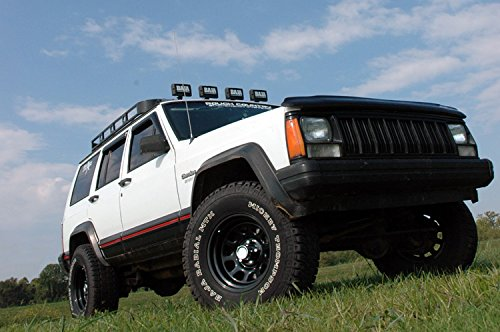 Rough Country - 670N2 - 3-inch Suspension Lift Kit w/ Premium N2.0 Shocks for Jeep: 84-01 Cherokee XJ 4WD by Rough Country