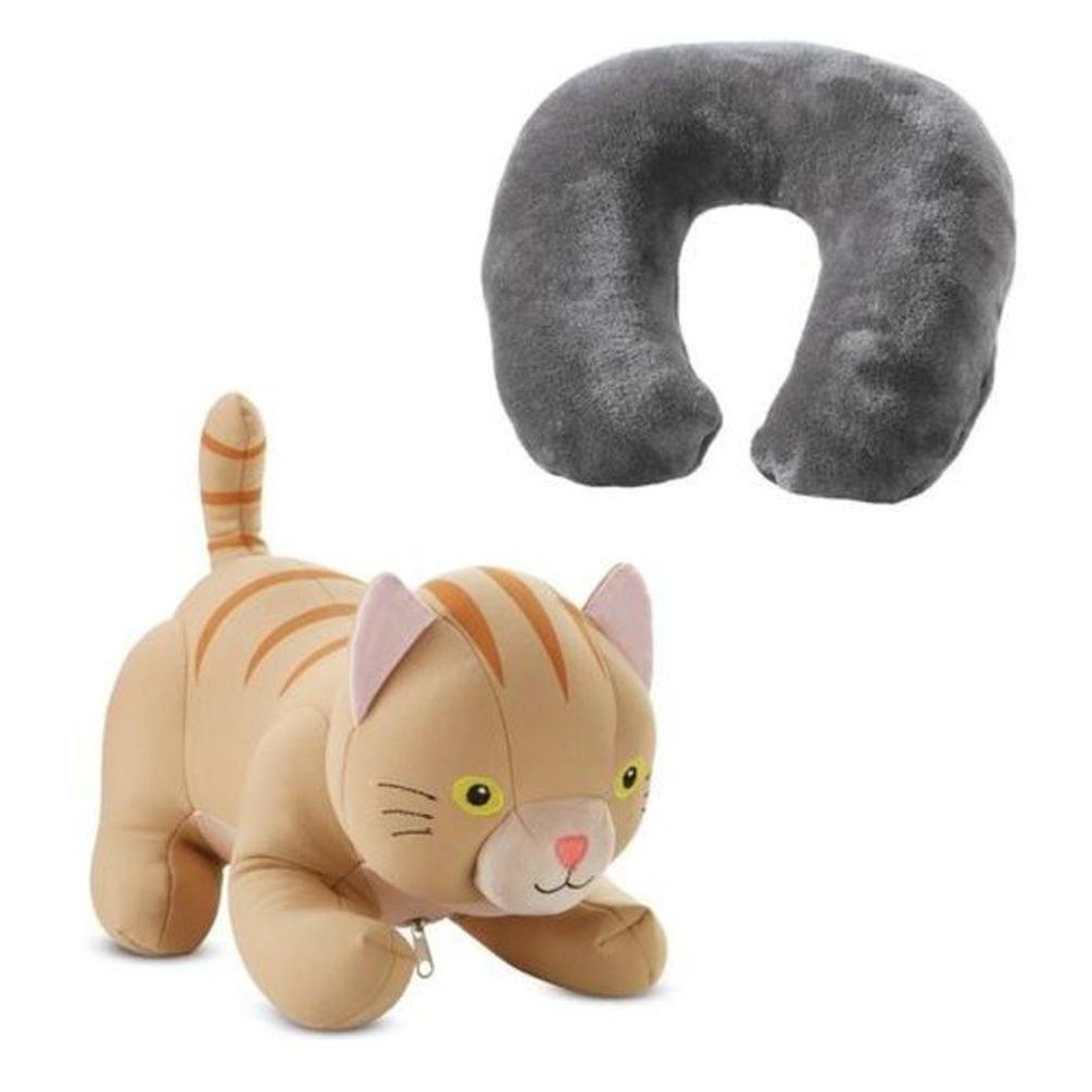 Brookstone ZuPilo Convertible Animal Travel Pillow