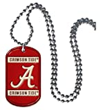 NCAA Alabama Crimson Tide 36-Inch Ball Chain Necklace with Licensed Tag