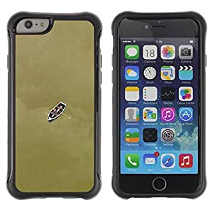 Suave TPU GEL Carcasa Funda Silicona Blando Estuche Caso de protección (para) Apple Iphone 6 / CECELL Phone case / / Boat Deep Meaning Bronze Brown /