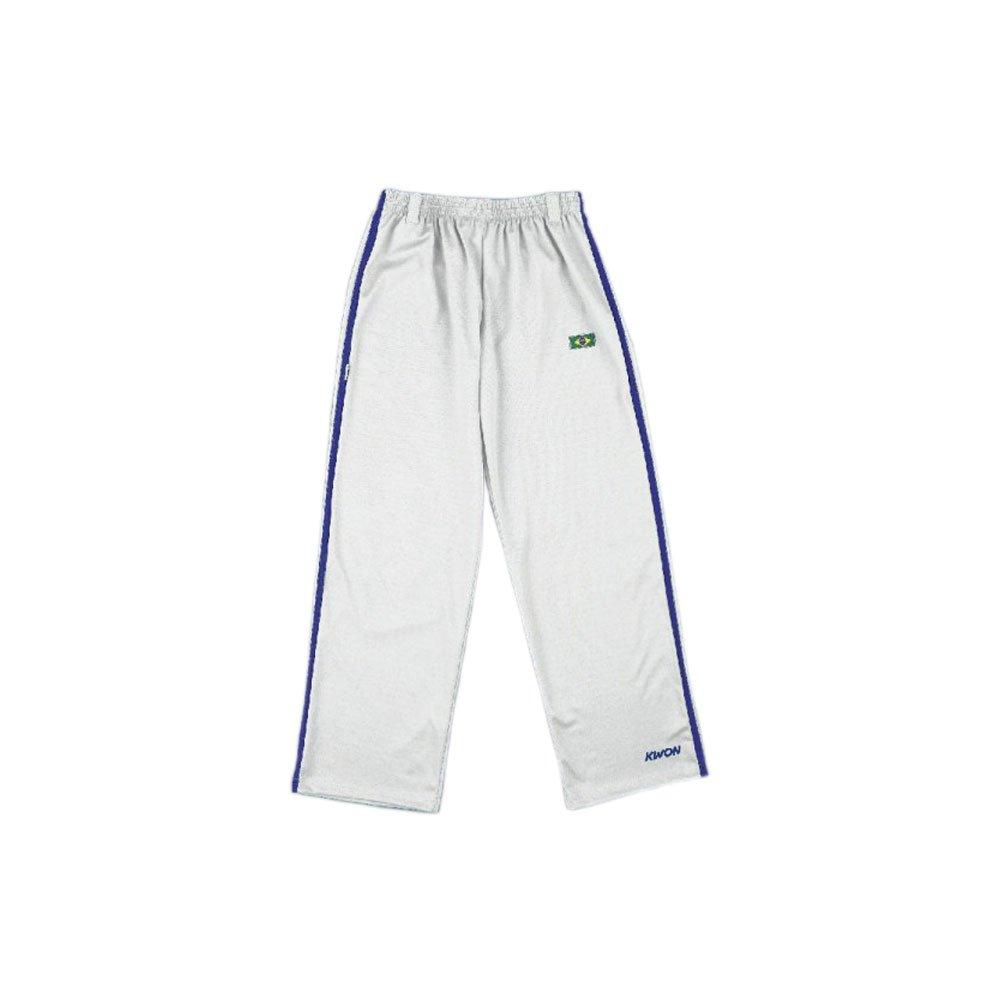 KWON Capoeira Hose Stripe, Weiß/Blau Kwon L Weiß/Blau Kwon L