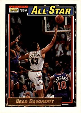 31eff8633b971 Amazon.com: 1992 Topps Basketball Card (1992-93) #116 Brad Daugherty ...