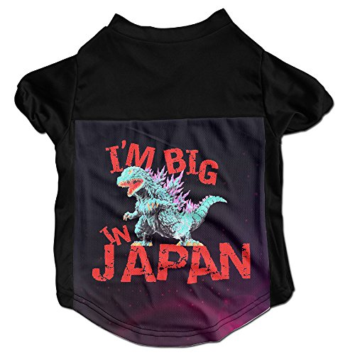 Godzilla Big In Japan Classy Puppy Dog Clothes Sweaters Shirt Hoodie Coats