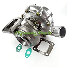 """Universal T4-81-1 Turbo Turbine Turbocharger A/R 0.80 air inlet:4"""" outlet:2.5"""" in 76.71 ex 102.36 Turbo Turbine A/R 0.81 in 64.5 ex 74.5 flange:T4 Exhaust outlet: V band oil cooled Journal bearing"""