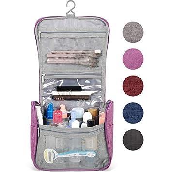 Amazon.com: Neceser organizador de maquillaje para mujeres y ...