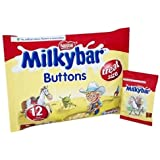 Milky Bar Buttons White Chocolate Mini Bags 189g Ref 12132820 163042