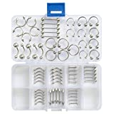 Oasis Plus 65pcs 13 Styles 14g 16g Body Piercing Kit Navel Belly Button Ring Tongue Nose Lip Rings Eyebrow Nipple Barbell