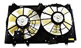 7 radiator fan - Dual Radiator and Condenser Fan Assembly - Cooling Direct For/Fit MA3115139 07-09 Mazda CX-7 WITHOUT Controller Module