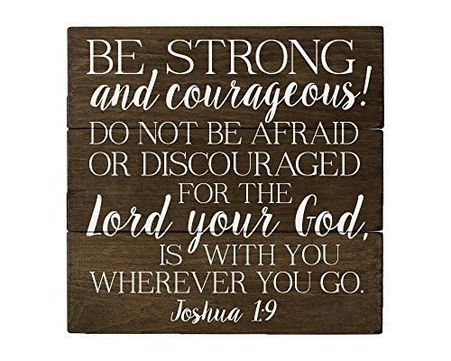Verses Bible Teachers (Elegant Signs Joshua 1 9 Be Strong and Courageous Bible Verse Art)