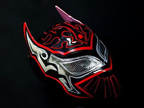 [SIN CARA WRESTLING MASK LUCHADOR COSTUME WRESTLER LUCHA LIBRE MEXICAN MASKE] (666 Halloween Costume)
