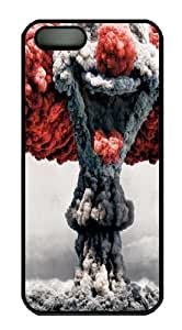 Clown Explosion PC Case Cover For iPhone 5 And iPhone 5S Black