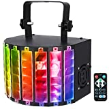 DJ Lights, SOLMORE 30W 9 Colors DMX512 LED Disco Party Lights Sound Activated Stage Lighting for Wedding KTV Show Pub House AC110-240V (with Remote)