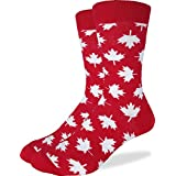 Good Luck Sock Men's Canada Maple Leaf Crew Socks