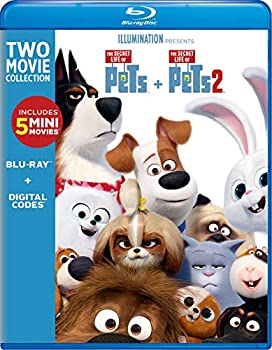 The Secret Life of Pets: 2-Movie Collection on Blu-ray