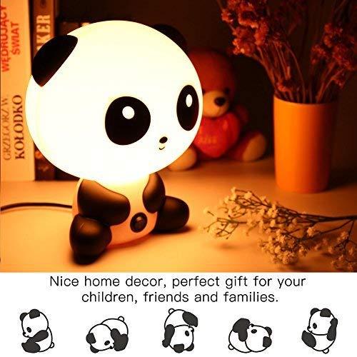 Maison ou le Bureau F/ête No/ël Table EU Lapin Lampe Nuit de Feu Cadeau en Plastique ABS pour les enfant D/écorer La Chambre