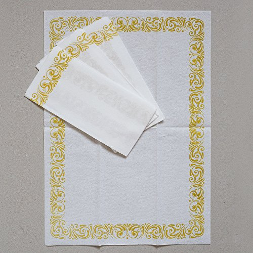 Mocko Disposable Hand Napkins 17x12 Quot 100 Pack Soft