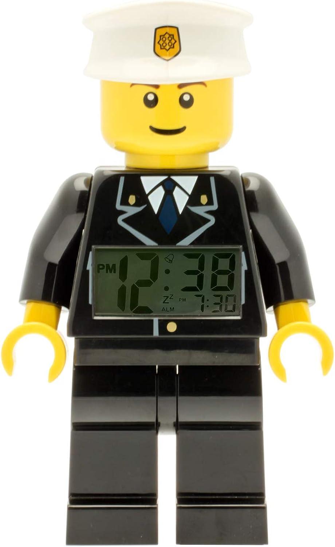 LEGO Despertador con luz Infantil con figurita de policía City 9002274