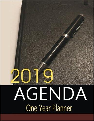 2019 Agenda: Great for planning activities, the 2019 Agenda ...