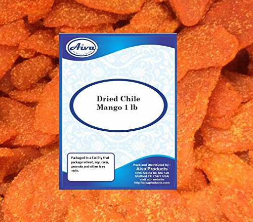- AIVA Dried Chile Mango 1 LB bag