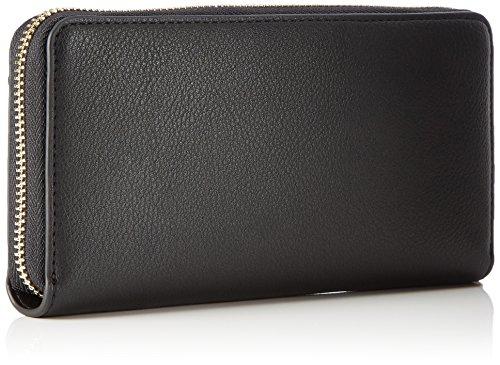 Calvin black Klein Large Le4 Noir Portefeuilles Ziparound qx7q4rPR
