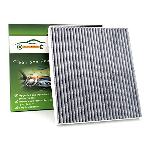 Fun-Driving Cabin Air Filter for Hyundai/Chevrolet/GMC Terrain/KIA Optima/Saturn,with Activated Carbon from Bamboo Charcoal, Replacement for CF11819/3SF79-AQ000/97133-3SAA0(1 Pack)