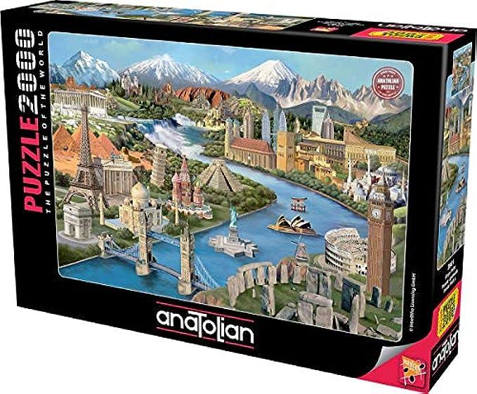 Puzzle: 2000 Popular Landmarks
