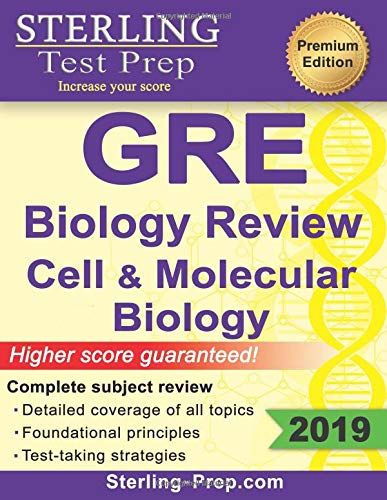 Pdf Test Preparation Sterling Test Prep GRE Biology: Review of Cell and Molecular Biology