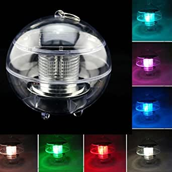 Firefly Waterproof Solar Powered Floating Led Light Color