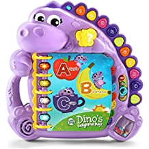LeapFrog 80-600560 Dino's Delightful Day Alphabet Book Amazon Exclusive, Purple