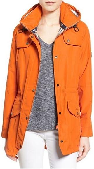 ce034eaad Barbour Trevose Women's Waterproof Jacket - Marigold, Size US6 ...