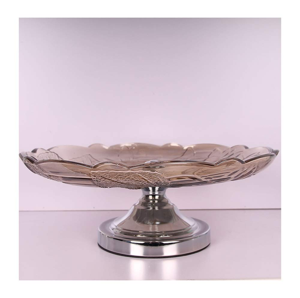 HARDY-YI ヨーロッパの高級ガラスフルーツプレートクリスタルガラスの装飾ガラスクラフトリビングルームのコーヒーテーブル家の装飾 -フルーツバスケット   B07PG429ZV