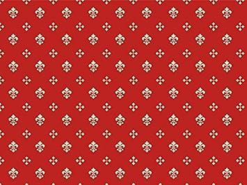 Sessel rot gemustert  Möbelstoff Royal Soft Farbe 63 (rot, Druck, bedruckt) - moderner ...