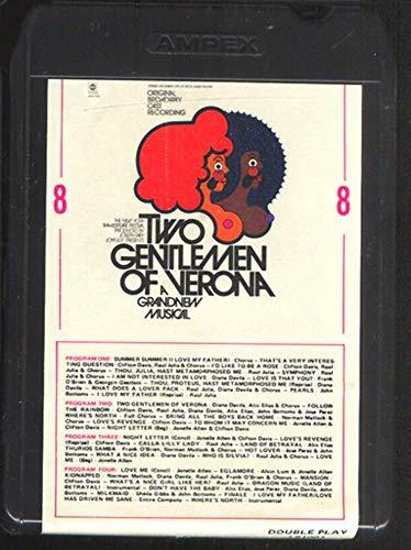 Two Gentlemen of Verona - Original Broadway Cast 8 Track Tape