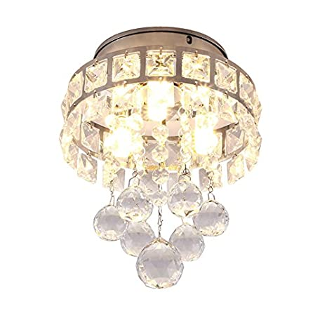 illuminazione Lampada a sospensione a cristallo lampadario a tre ...