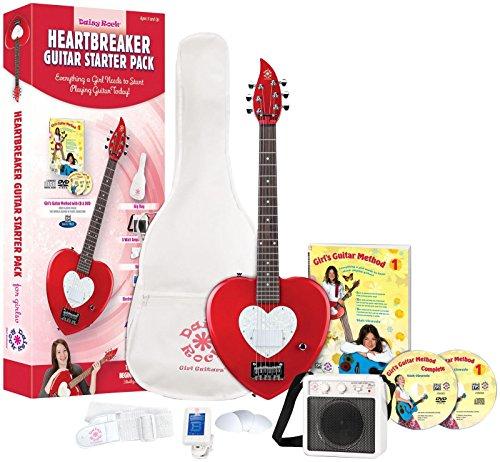 Daisy Rock Heartbreaker Electric Short Scale Starter Pack ()