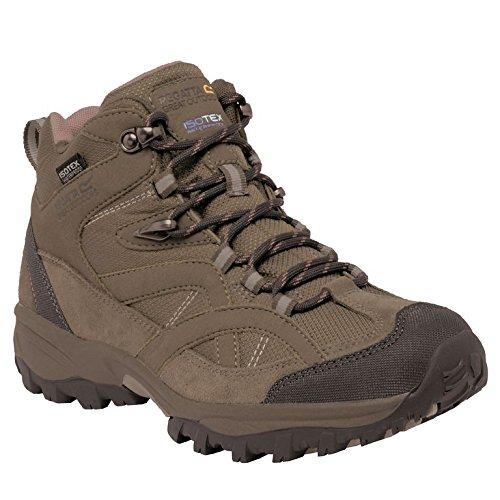 Regatta Alderson Mid, Chaussures de Randonnée Hautes Femme, Briar, 37 EU Beige (Walnt/Duskyr 2Lz) 36 EU RWF481 2LZF36