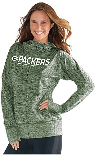 NFL Green Bay Packers Women's Receiver Hoody,