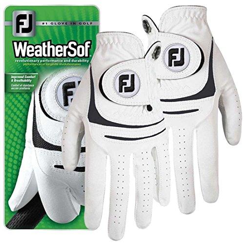 NEW-Titleist-FootJoy-WeatherSof-Golf-Glove-Ladies-Pair-Both-LH-RH-Medium-Large