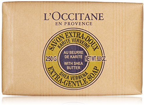 8.8 Ounce Soap (L'Occitane Extra-Gentle Vegetable Based Soap Enriched with Shea Butter - Verbena Scent, 8.8 oz.)