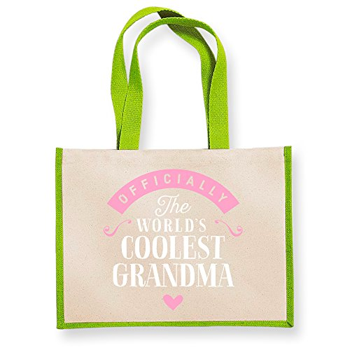 Gifts Keepsake Gift Birthday Bag Grandma Personalised Great Tote Gifts Funny Granddaughter Present Shoppin Green From P8qAAdaUw