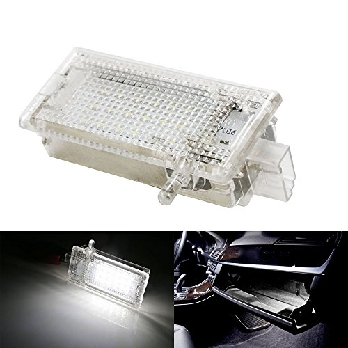 Bmw Glove Box - iJDMTOY (1) OEM Replacement Xenon White Error Free LED Glove Box Light Assembly For BMW 1 3 X1 X3 X5 Series MINI Cooper