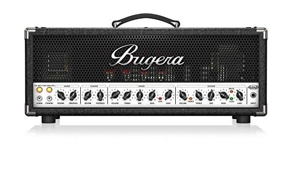 Bugera - Amplificador guitarra 6262 infinium amplific valvulas 120 w: Amazon.es: Instrumentos musicales