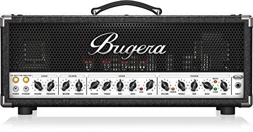 BUGERA 6262 INFINIUM Ultimate Rock Tone 120-Watt 2-Channel Valve Amplifier Head with Reverb Multi Colored (6262INFINIUM)