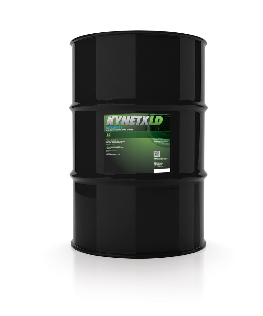 Kynetx Lithium Grease, LD MBK29, 400 lb. Drum, MBK29000A0-KN3023, Multipurpose Lubricant for General Purpose Industrial and Automotive Applications, NLGI Grade 2, Color Black, Texture Buttery
