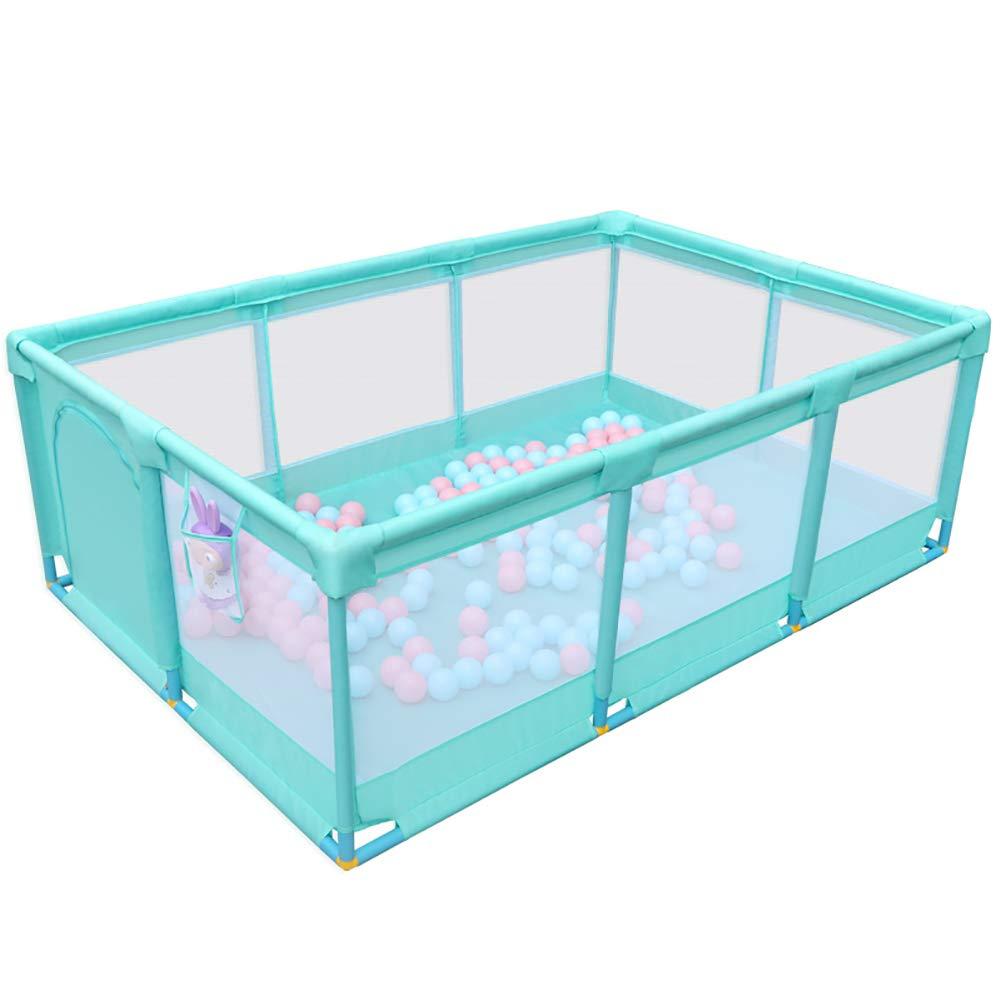 赤ちゃんの囲い エクストララージベビープレイペン、室内子供用プレイグラウンド屋外幼児子供用アクティビティセンターセーフティポータブルゲームフェンス (色 : Style2)  Style2 B07K5X946S