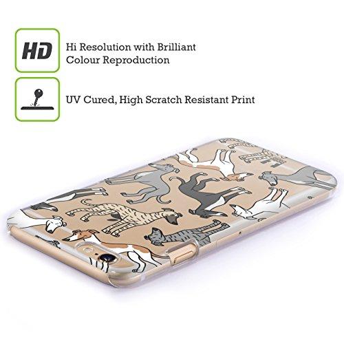 Head Case Designs Whippet Hunde Rassen Modelle 6 Ruckseite Hülle für Apple iPhone 6 / 6s