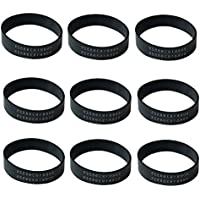 Think Crucial 9 Replacements for Oreck XL Drive Belts, Compatible with Part # 030-0604 & XL010-0604