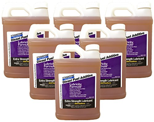 Stanadyne Diesel Lubricity Formula - 64 Oz - Case of 6 bottles.  Each Bottle treats 500 Gallons of Diesel Fuel.