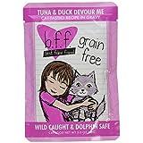Best Feline Friend 12-Pack Tuna/Duck Devour Me Gravy Cat Food, 3-Ounce